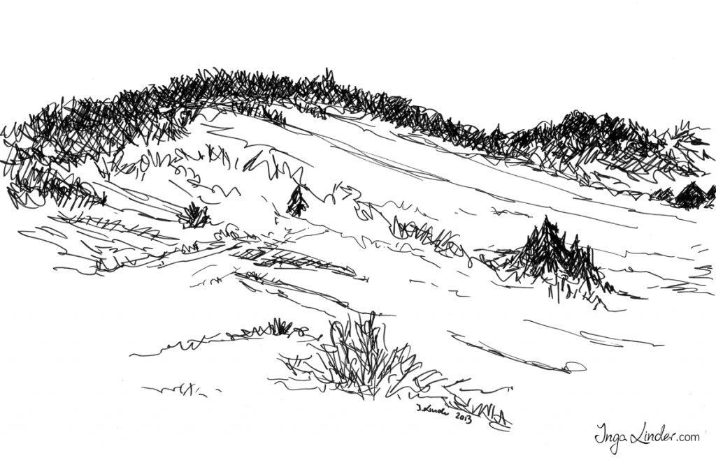 Krajobraz - marker Inga Linder-Kopiecka